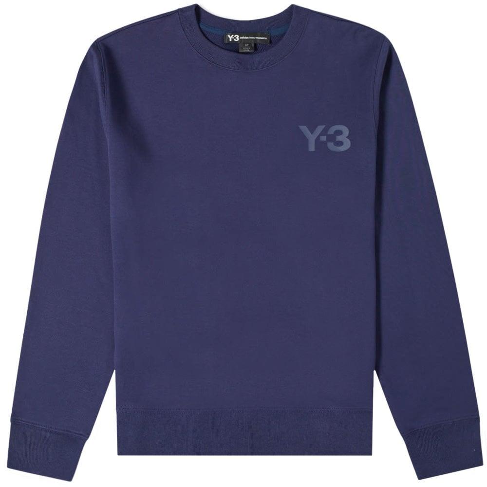 Y-3 Classic Chest Logo Sweatshirt  Colour: YOHJI BLUE, Size: SMALL
