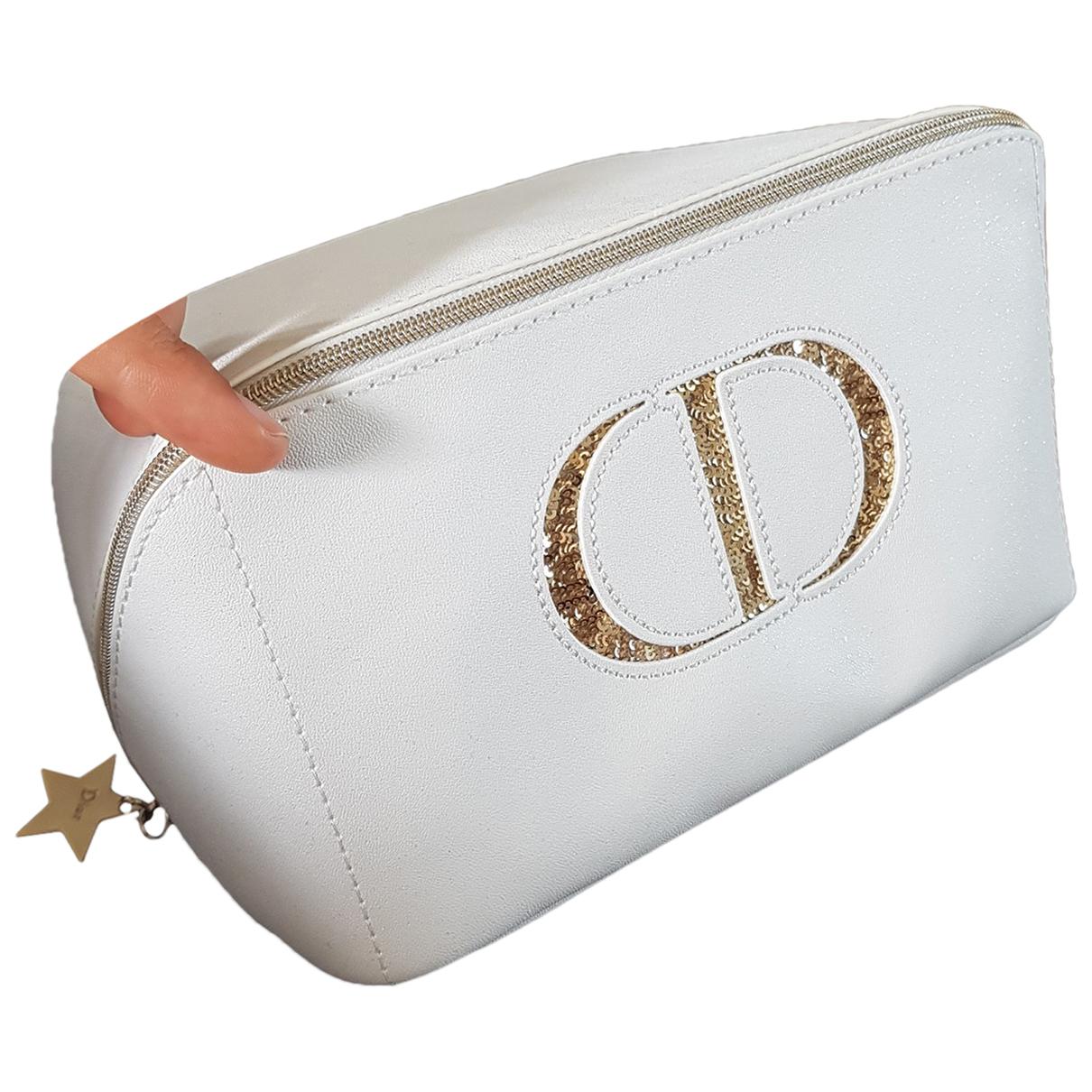 Dior \N Reisetasche in  Weiss Kunststoff