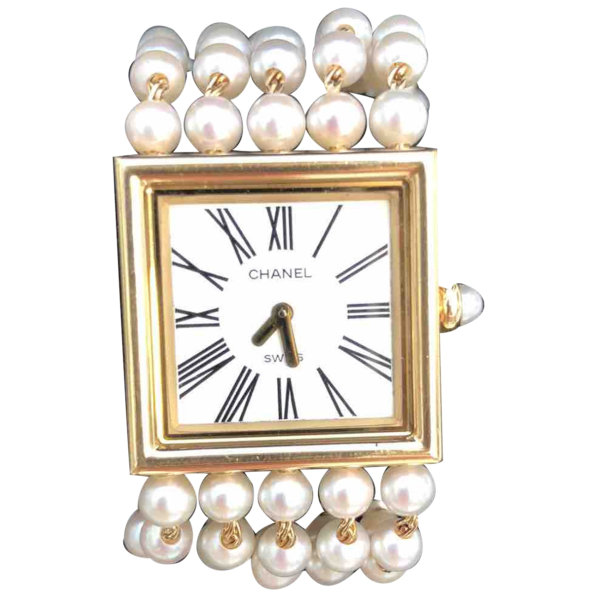 Chanel Mademoiselle Gold Yellow gold watch for Women \N