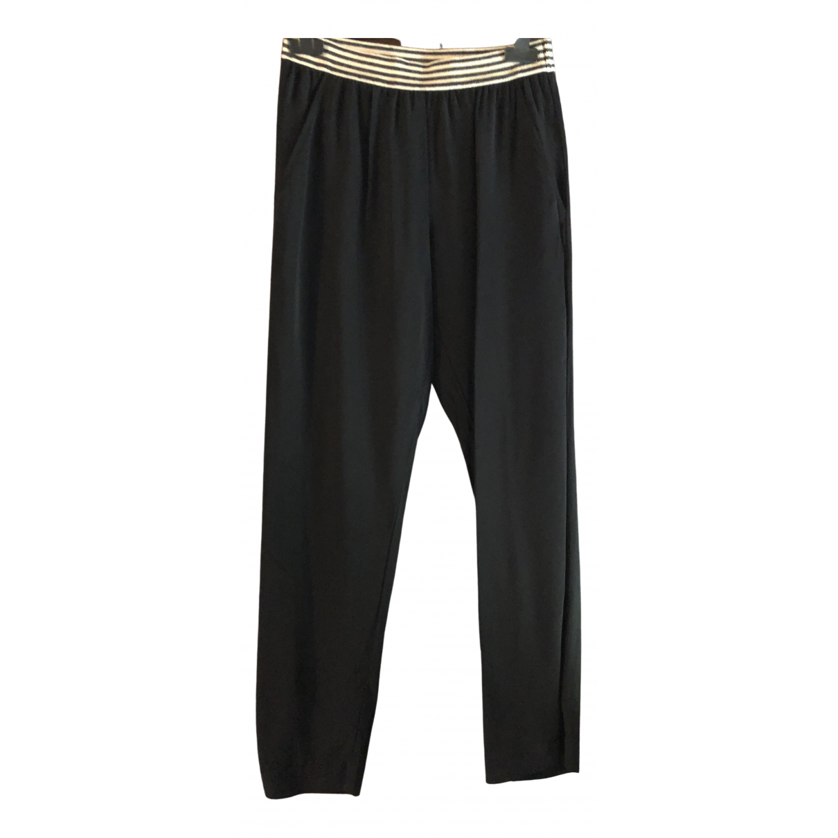 Jucca \N Black Trousers for Women 38 IT