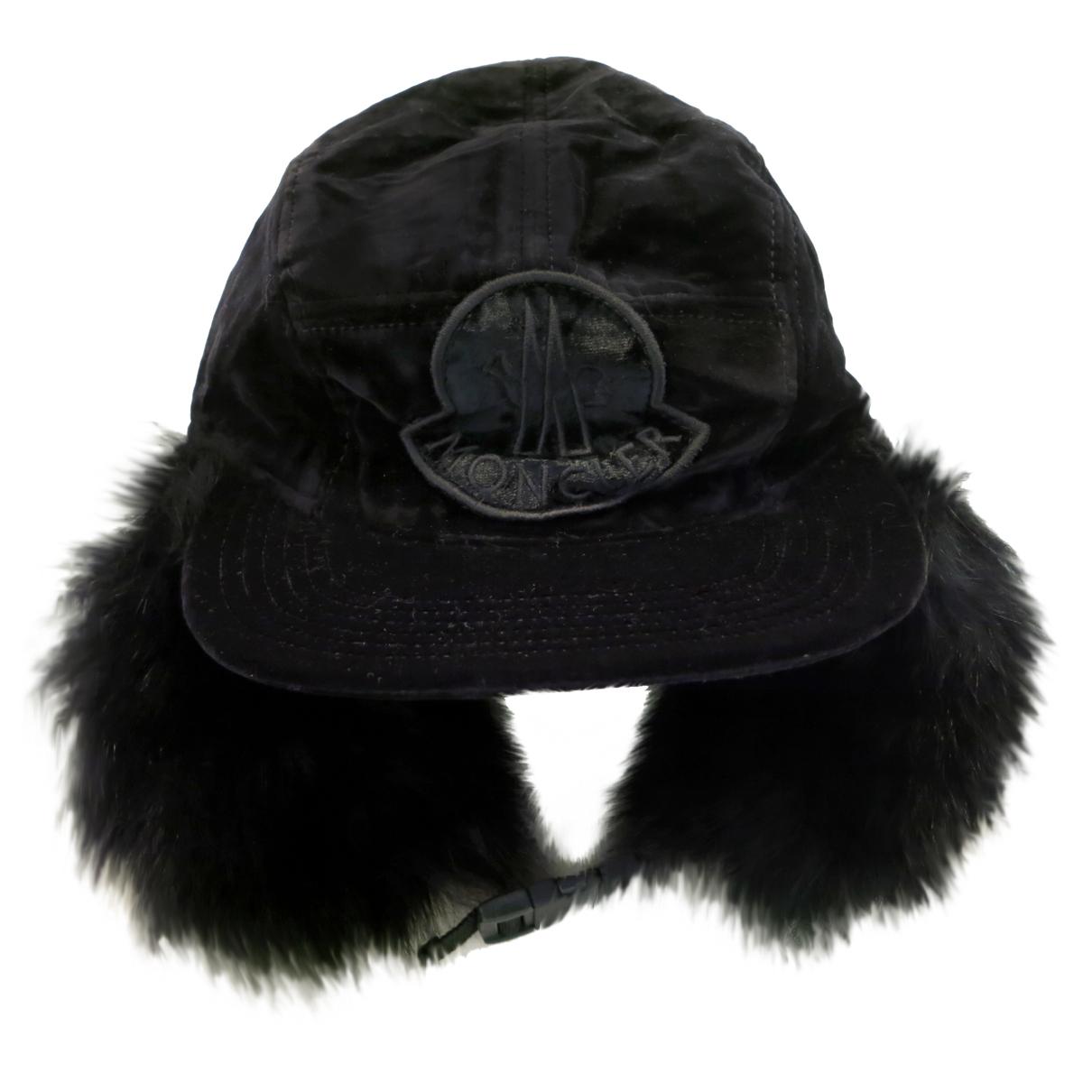 Moncler N Black Cotton hat for Women S International