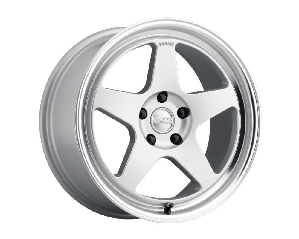 Kansei KNP Wheel 18x9 5x100 12mm Hyper Silver