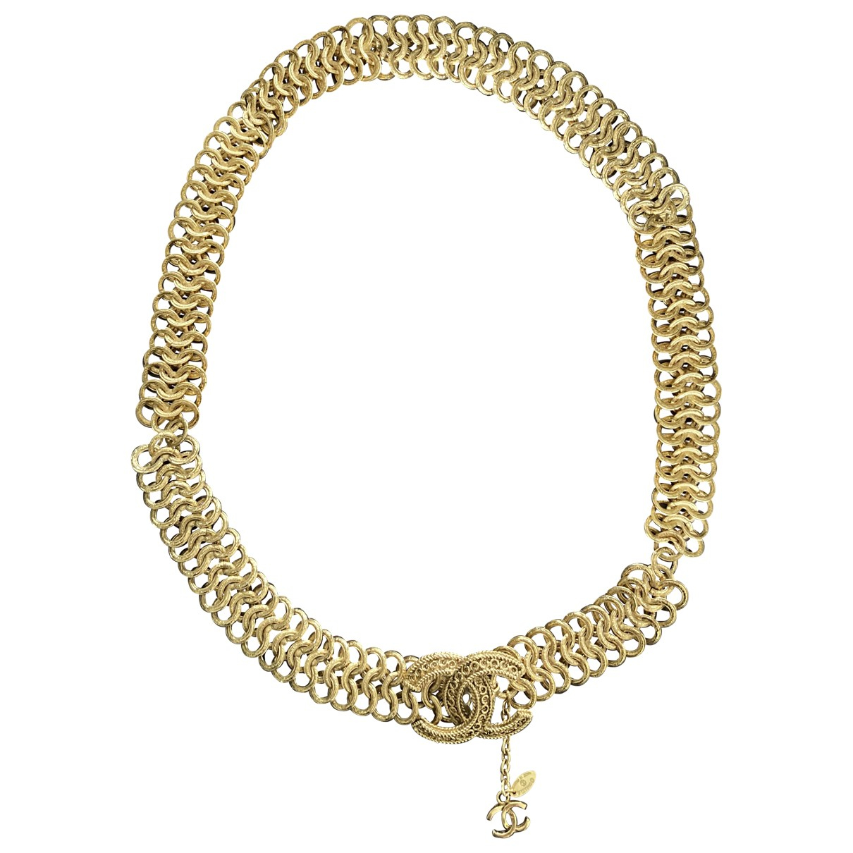 Chanel \N Guertel in  Gold Ketten