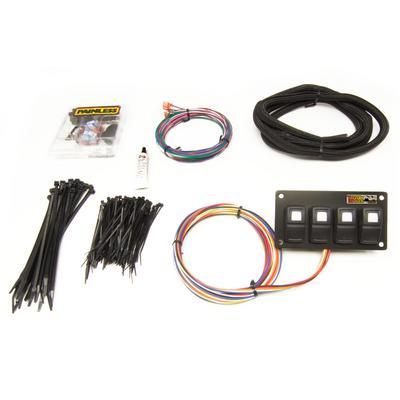 Painless Wiring Universal 4-Switch Trail Rocker (Dash Mount) - 57107