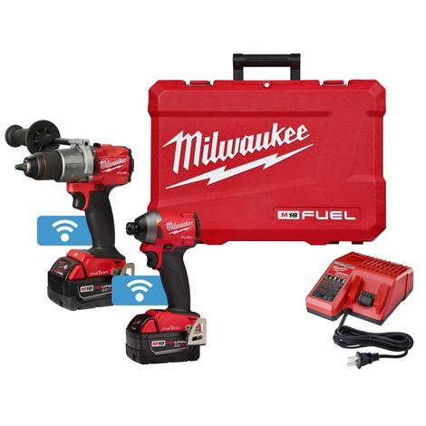Milwaukee M18™ Fuel™ Hammer Drill/Impact with One Key™ Combo Kit