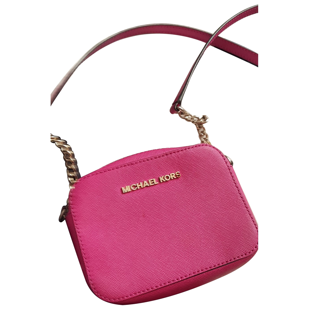 Michael Kors \N Pink Leather Clutch bag for Women \N