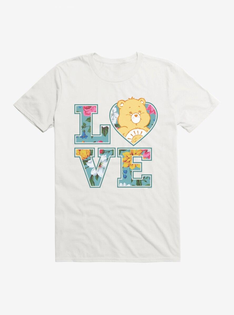 Care Bears Funshine Bear Love Script T-Shirt