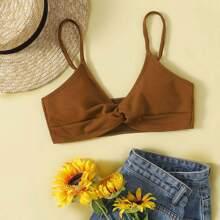Twist Cami Bikini Top