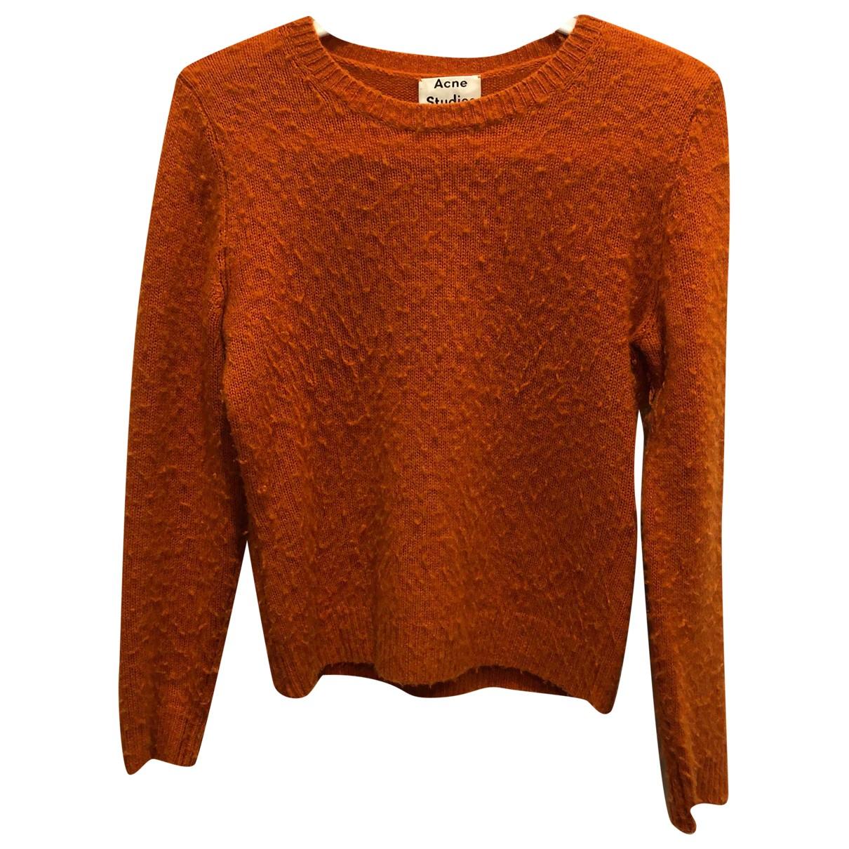 Acne Studios \N Orange Wool Knitwear for Women S International