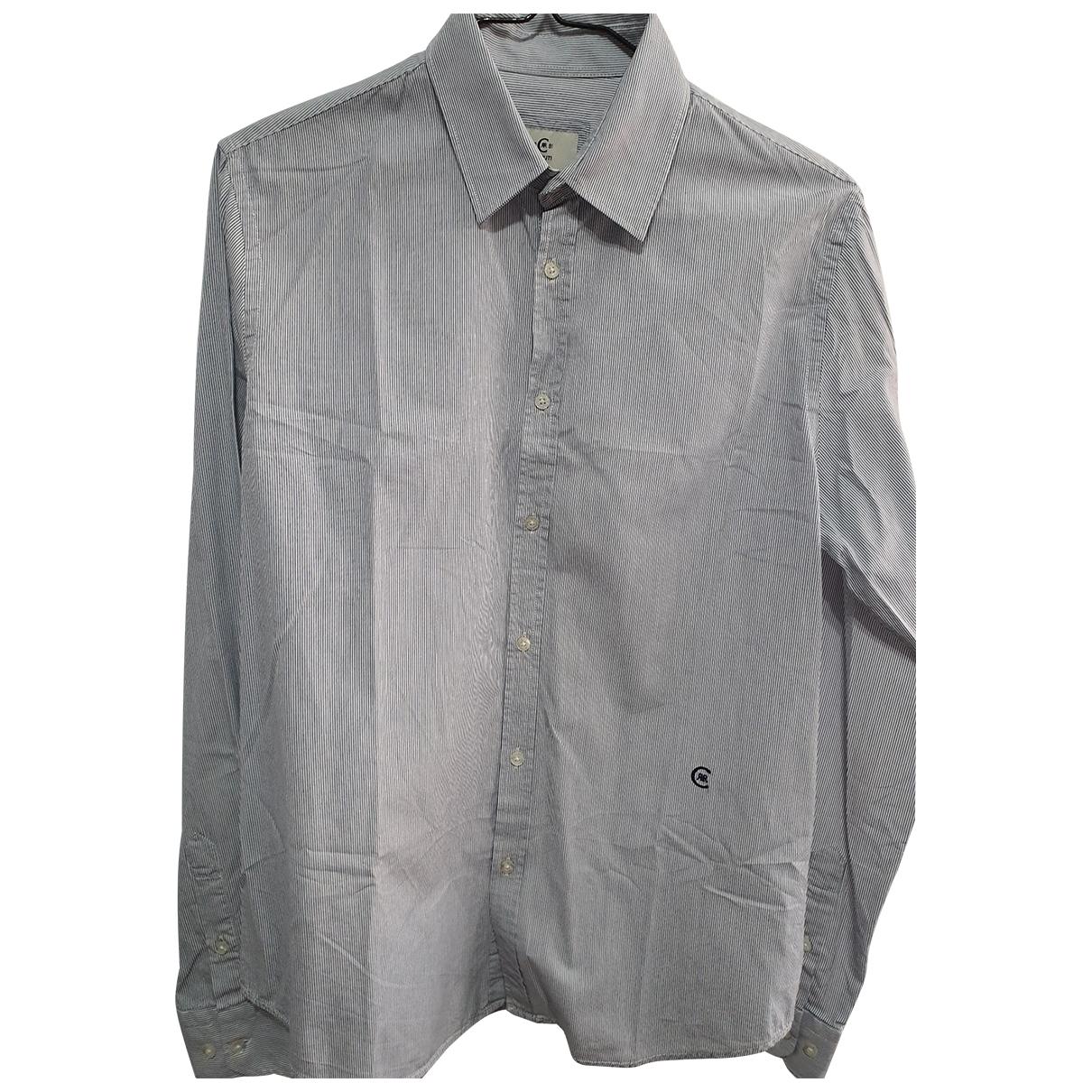Cerruti - Chemises   pour homme en coton - bleu