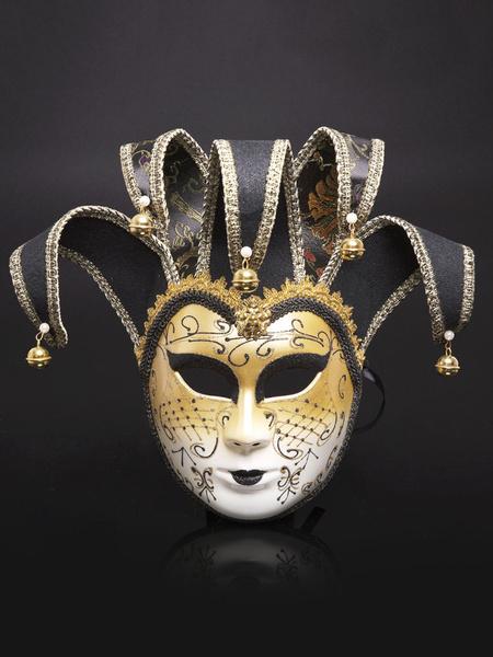Milanoo Halloween Covering Costume Sequin Bell Gilding Carnival Mardi Gras Masquerade Costume Accessories