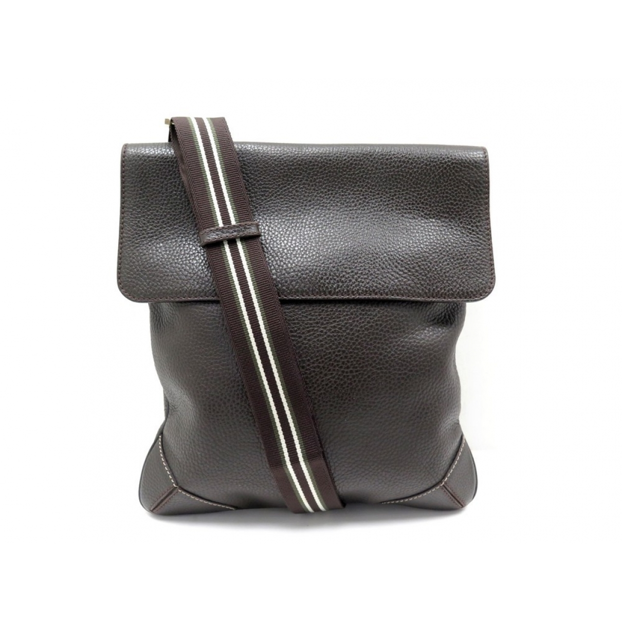 Alfred Dunhill \N Brown Leather handbag for Women \N