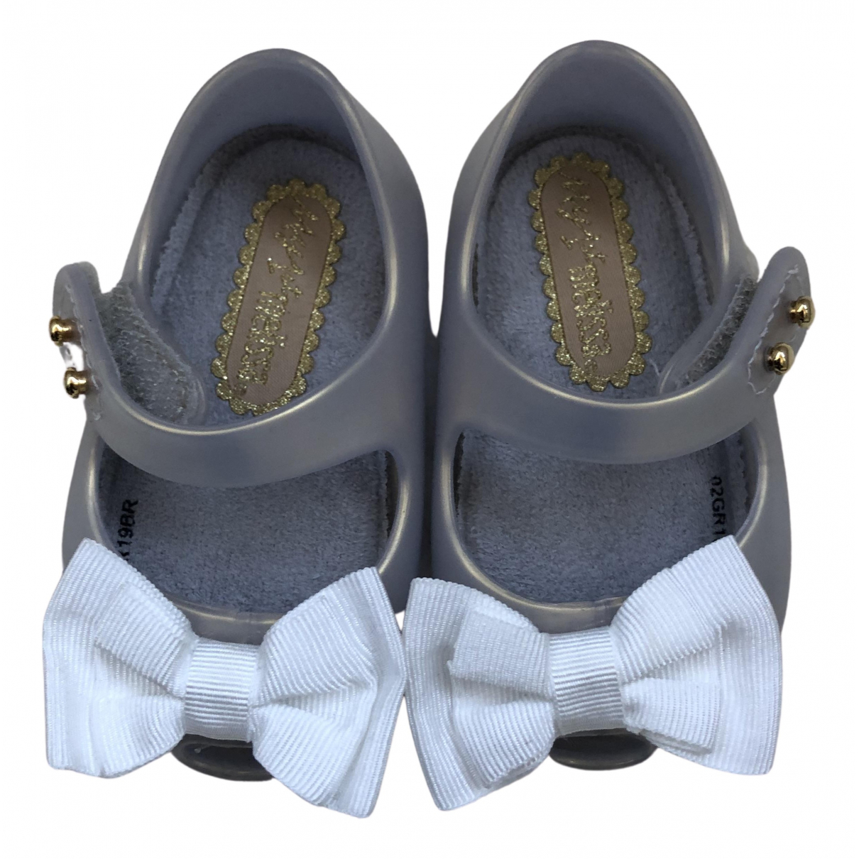 Melissa N Metallic Rubber First shoes for Kids 17 FR