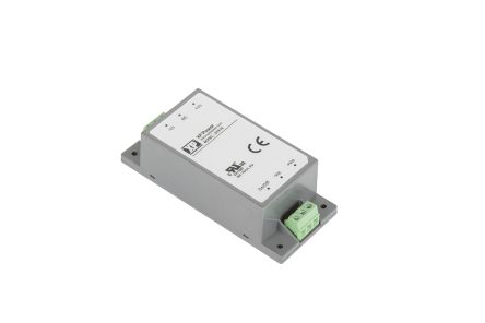XP Power DTE10 10W DC-DC Converter Chassis Mount, Voltage in 18 → 75 V dc, Voltage out 48V dc