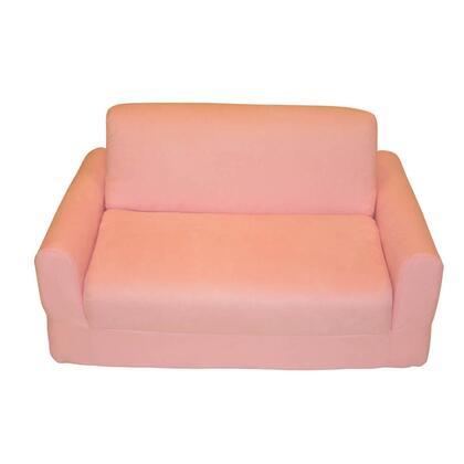 11230 Sofa Sleeper With Pillows Pink Micro