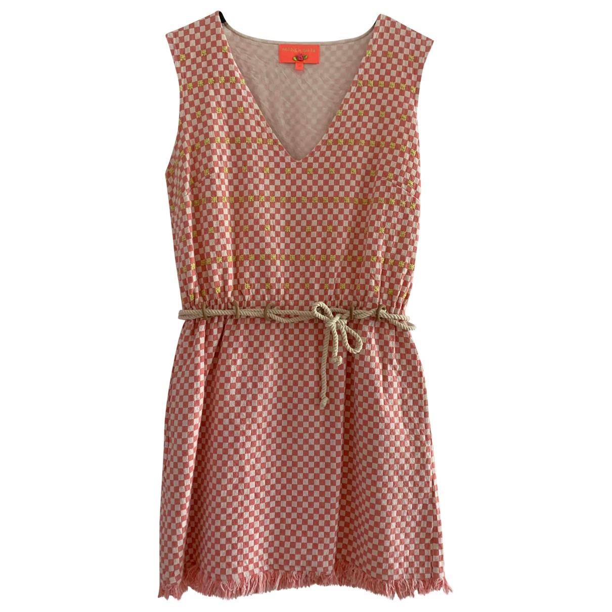 Manoush \N Pink Cotton dress for Women 38 FR