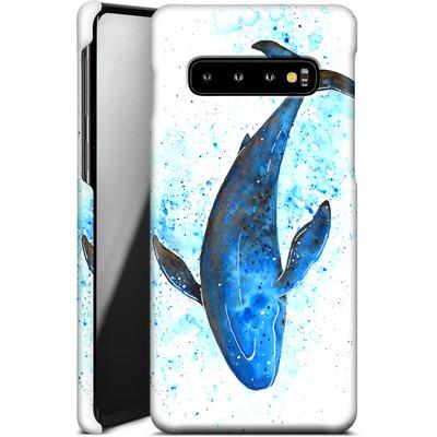 Samsung Galaxy S10 Smartphone Huelle - Whale Dive von Becky Starsmore