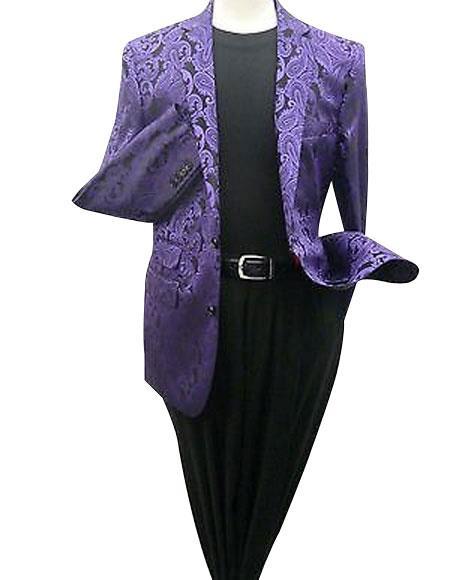 Mens Purple Blazer (Wholesale Price $75 (20PC&UPMinimum))