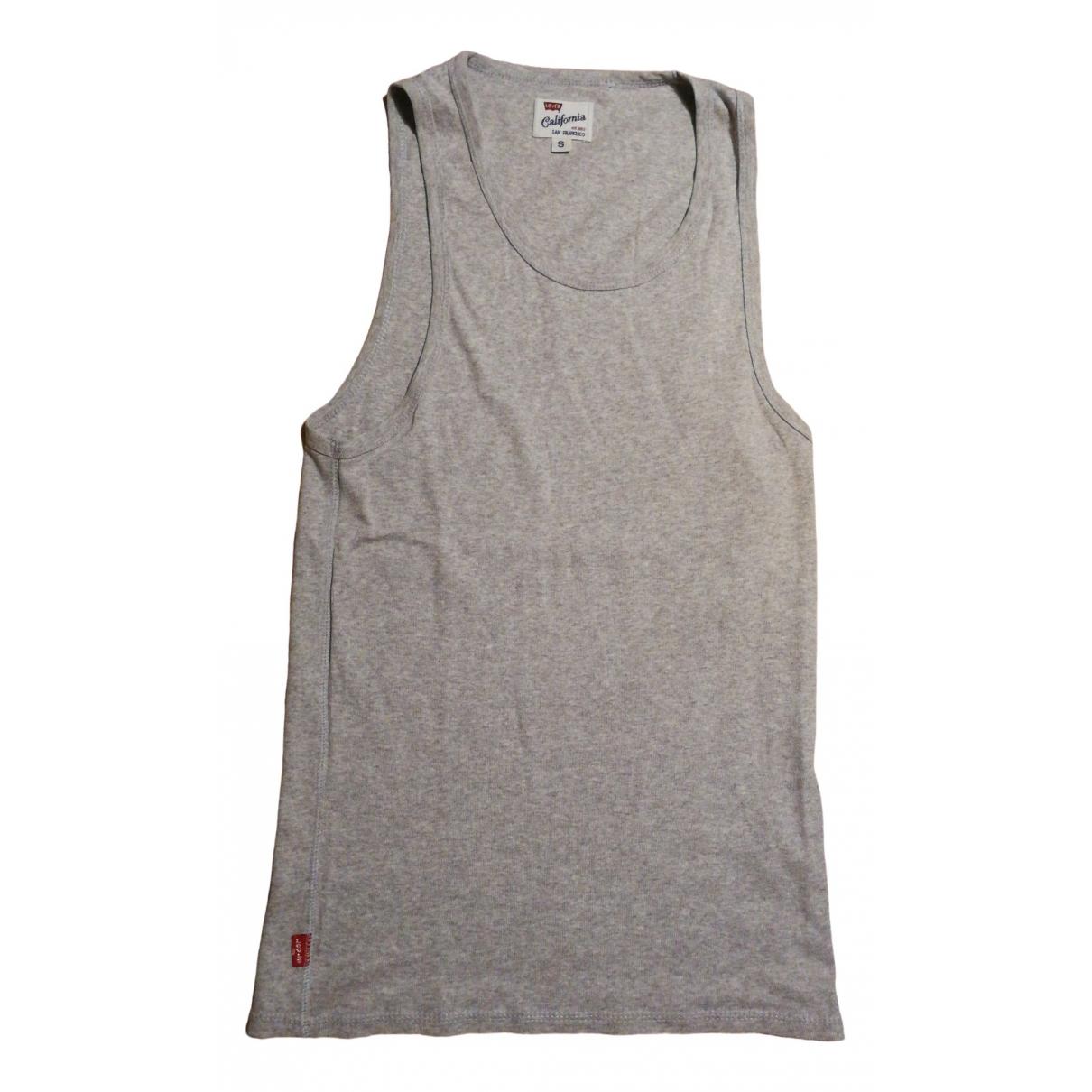 Levis - Top   pour femme en coton - gris