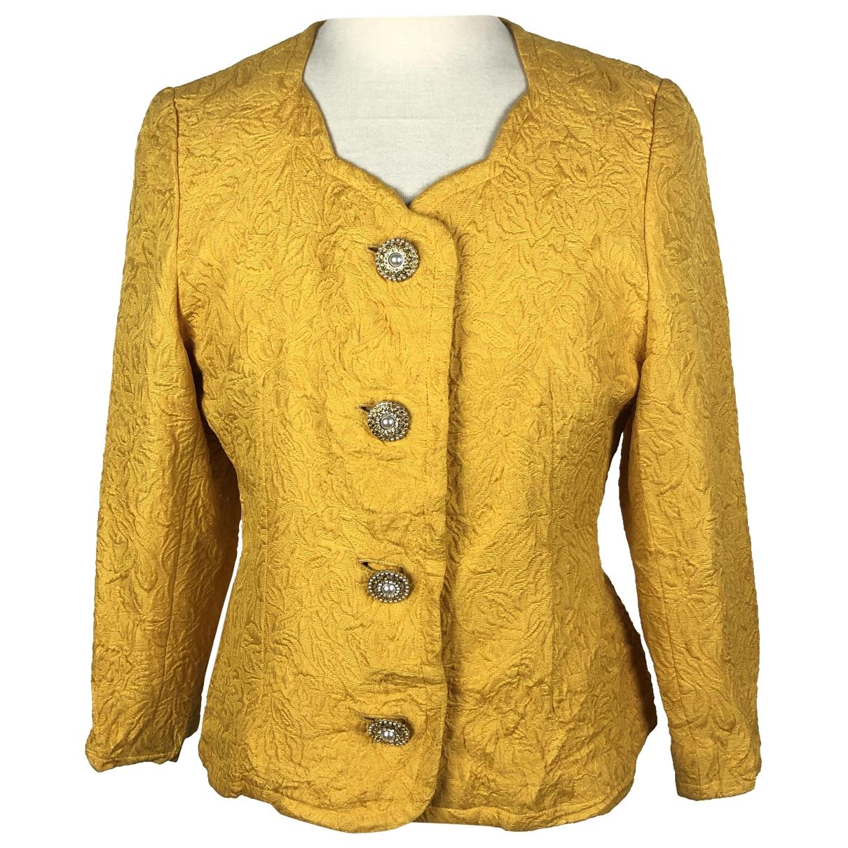 Givenchy - Veste   pour femme en coton - jaune