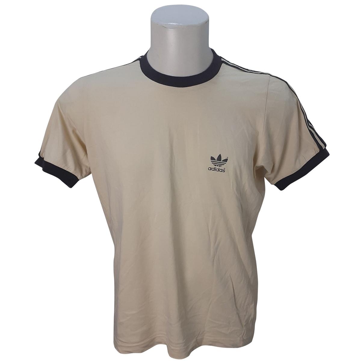Adidas \N T-Shirts in  Beige Baumwolle