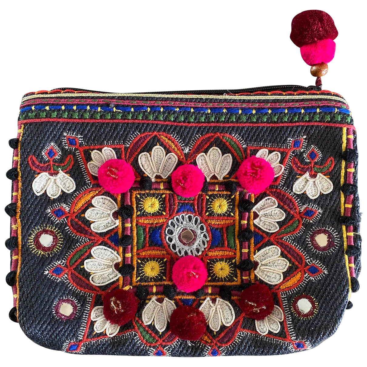Bolsos clutch en Algodon Multicolor Star Mela