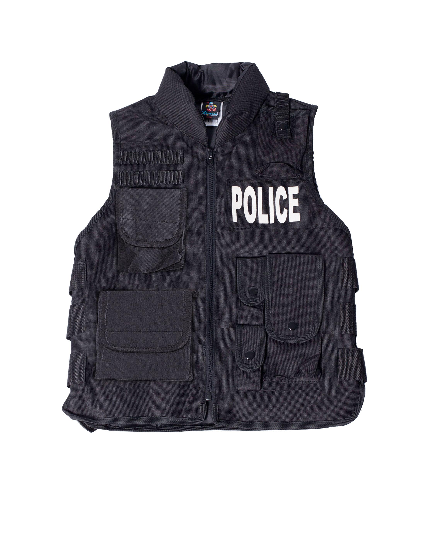 Weste POLICE Kinder Farbe: schwarz