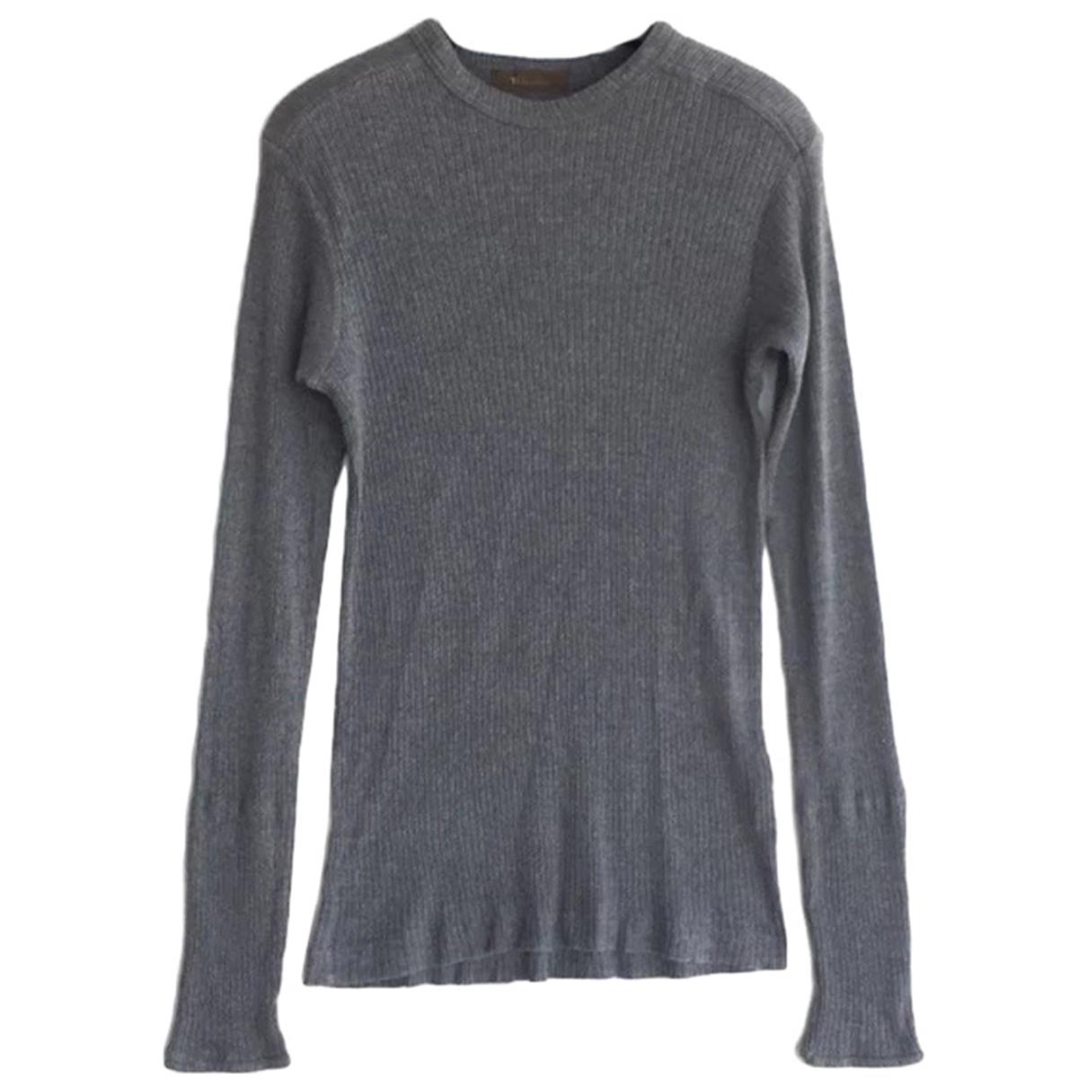 Yohji Yamamoto - Polos   pour homme en coton - gris