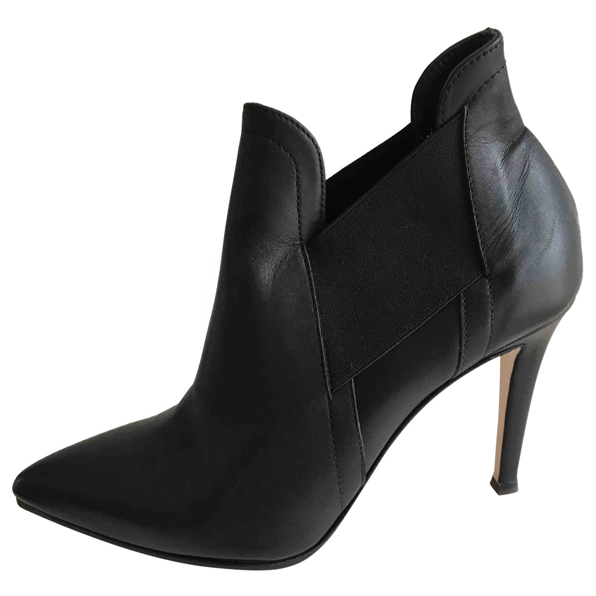 Orciani \N Black Leather Boots for Women 38 EU