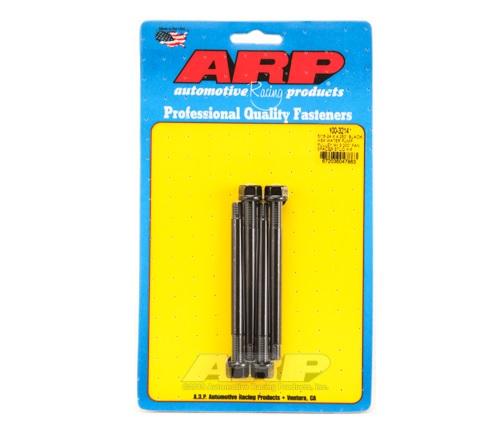 ARP 5/16-24 X 4.250 Black Hex Water Pump Pulley w/ 3.000in Fan Spacer Stud Kit