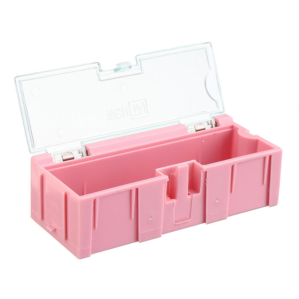 NO.2 Small Splicable Tool Box Screw Object Electronic Project Component Parts Storage Box Case SMT SMD Pops Up Patch Con