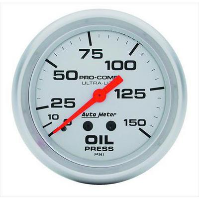 Auto Meter Ultra-Lite Mechanical Oil Pressure Gauge - 4423