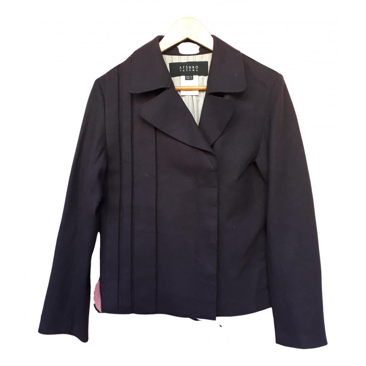 Atsuro Tayama N Purple Wool jacket for Women S International