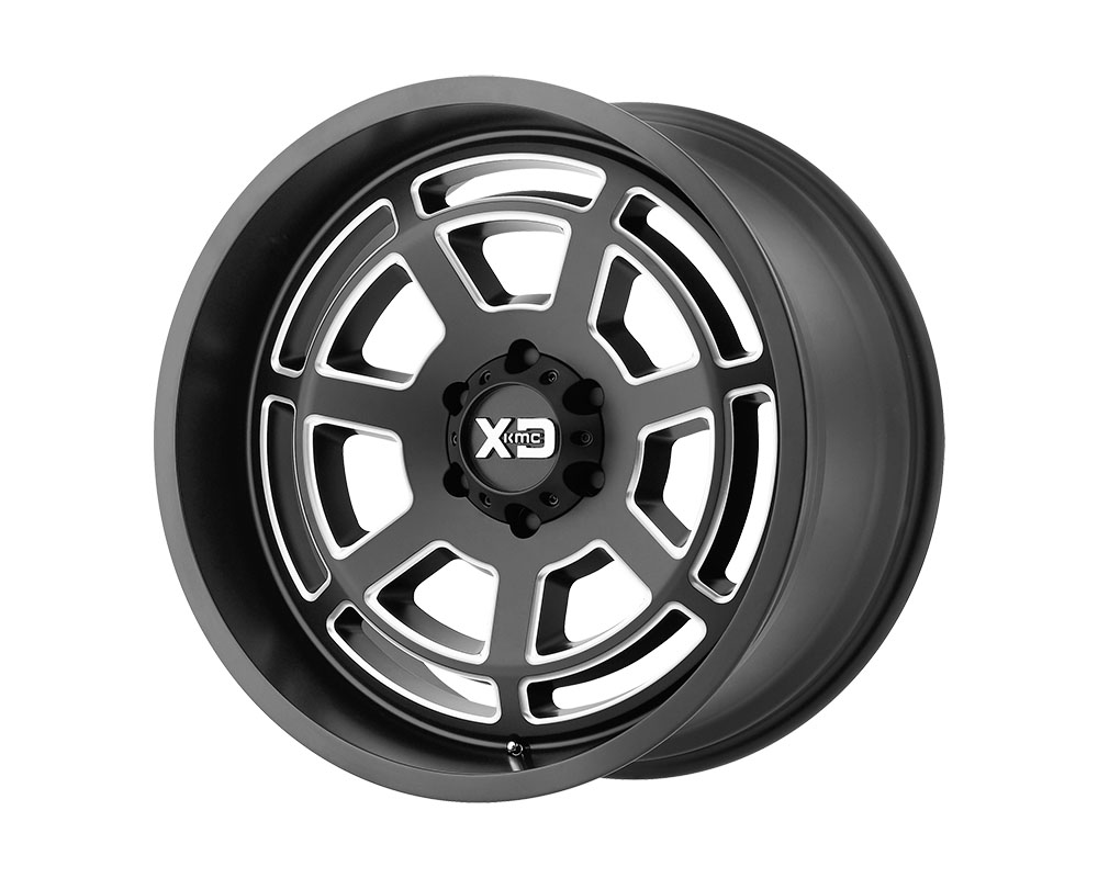 XD Series XD82429058925 XD824 Bones Wheel 20x9 5x5x150 +25mm Satin Black Milled