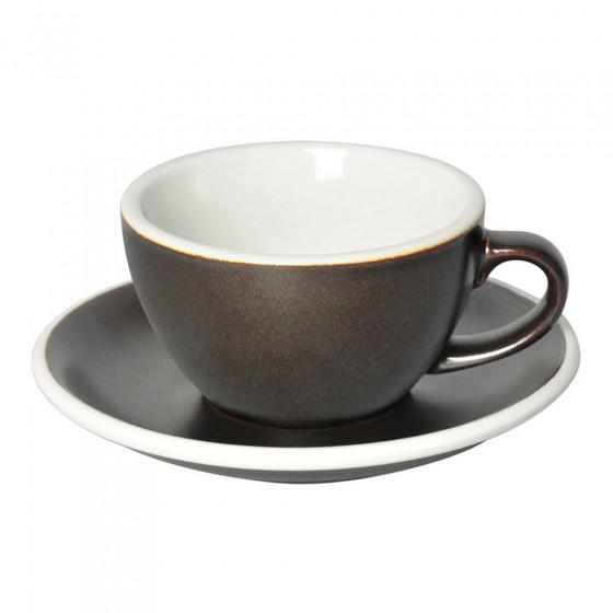 "Cappuccino-Tasse mit Untertasse Loveramics ""Egg Gunpowder"", 200 ml"