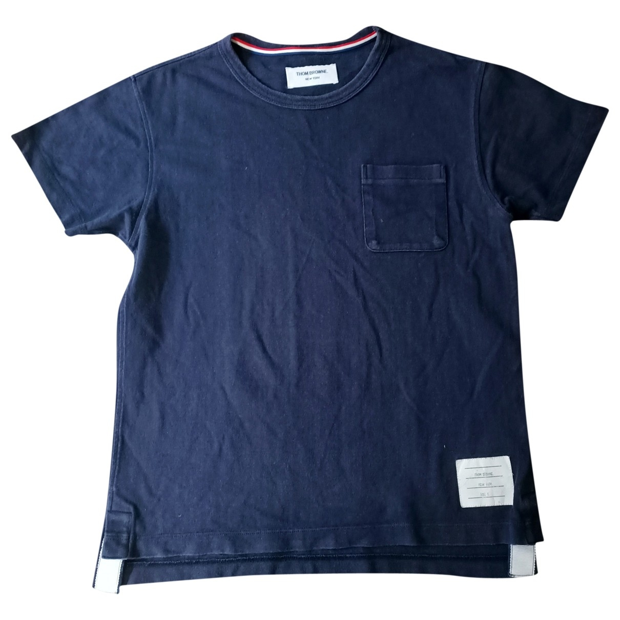 Thom Browne \N Navy Cotton T-shirts for Men 0 0 - 6