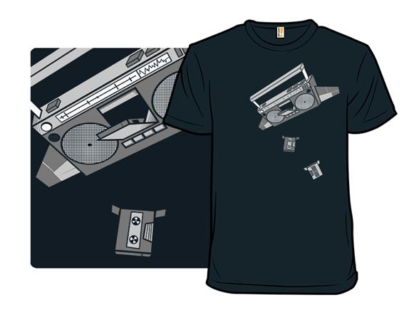 Boombox T Shirt