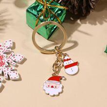 Christmas Santa Claus Charm Keychain