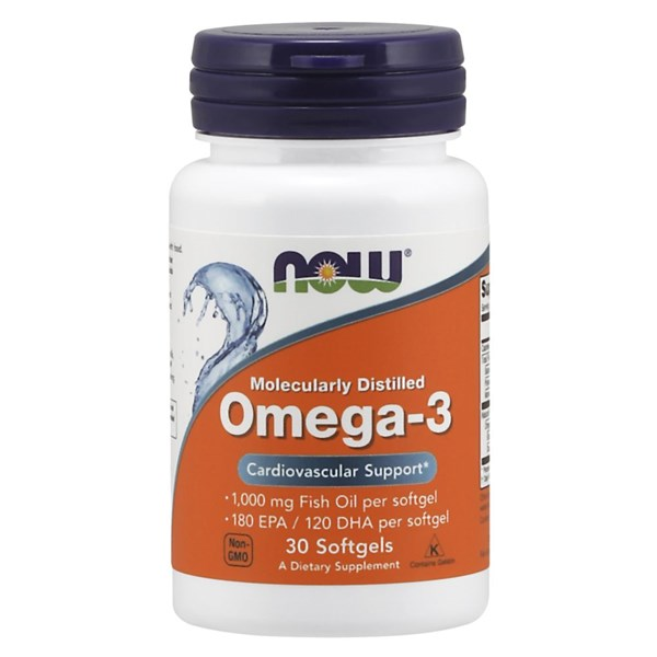 Omega-3 30 Soft Gels by Now Foods