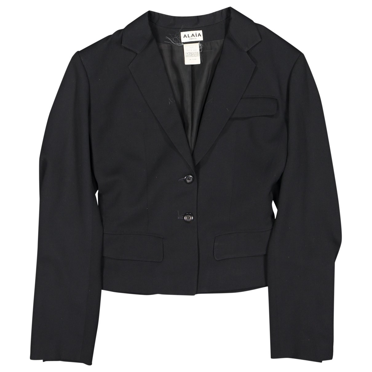 Alaïa \N Black jacket for Women 40 FR