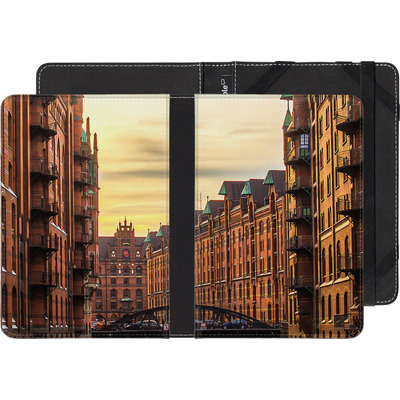 Sony Reader PRS-T3 eBook Reader Huelle - Speicherstadt von caseable Designs