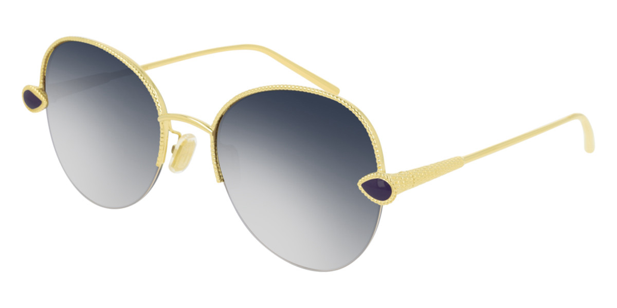 Boucheron BC0079S 002 Women's Sunglasses Gold Size 56