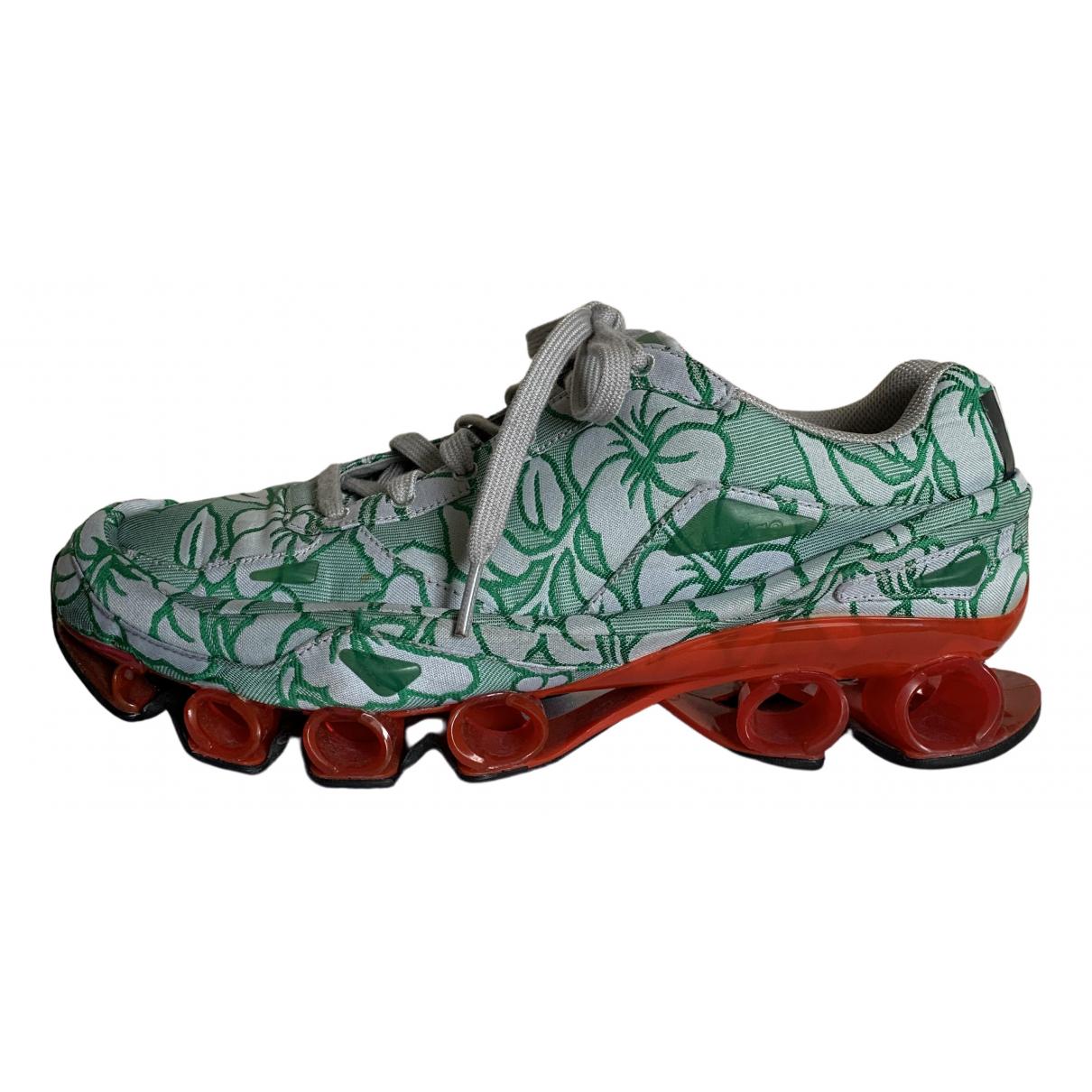 Adidas X Raf Simons - Baskets   pour homme en toile - vert