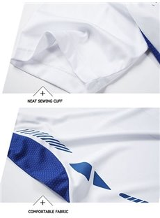 Multi-color Short Sleeve Cycling Jersey Men Quick Drying Shirt
