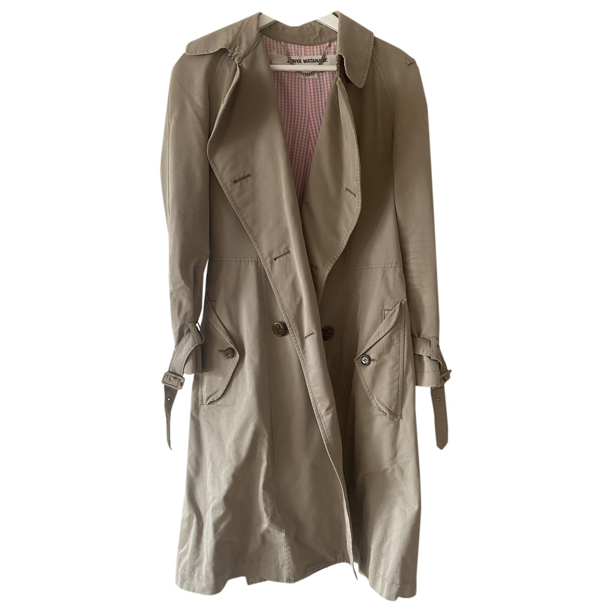Junya Watanabe \N Beige Cotton coat for Women M International