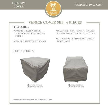 VENICE-07eWC-GRY Protective Cover Set  for VENICE-07e in