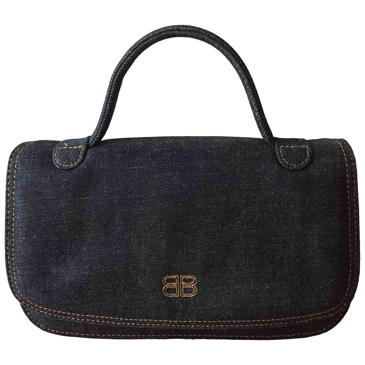 Non Signé / Unsigned \N Blue Denim - Jeans Clutch bag for Women \N