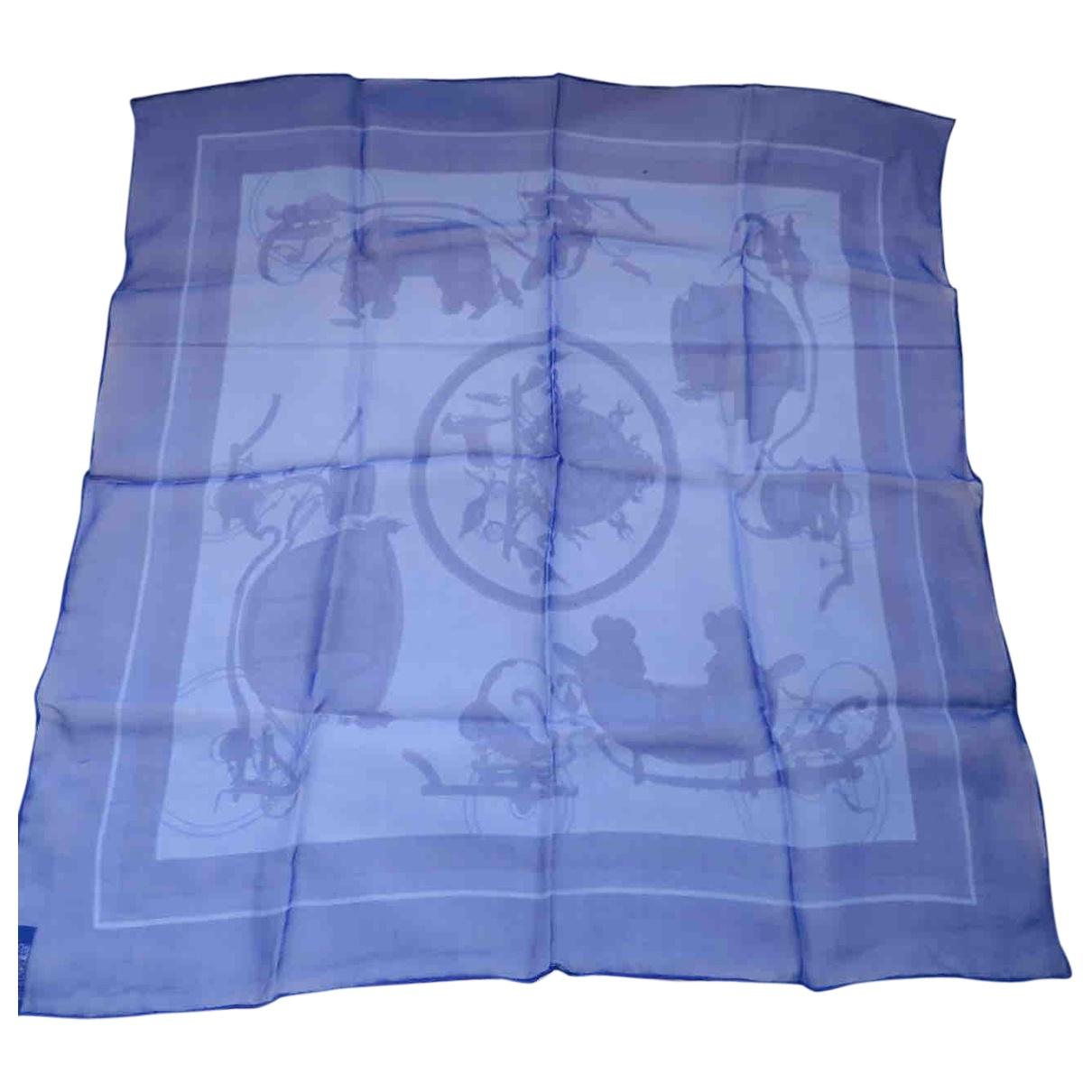 Hermès Gavroche 45 Blue Silk scarf for Women \N