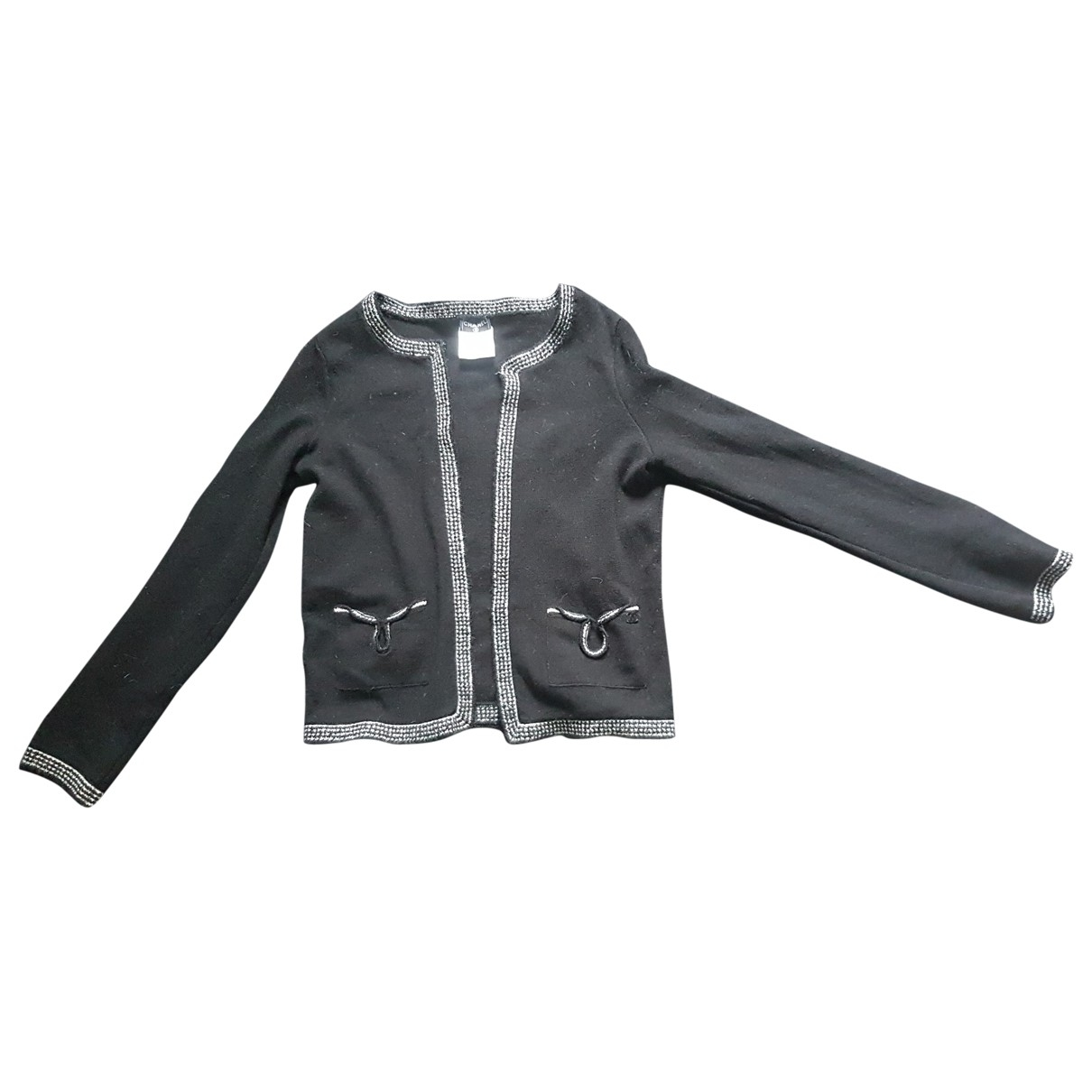 Chanel \N Pullover in  Schwarz Wolle