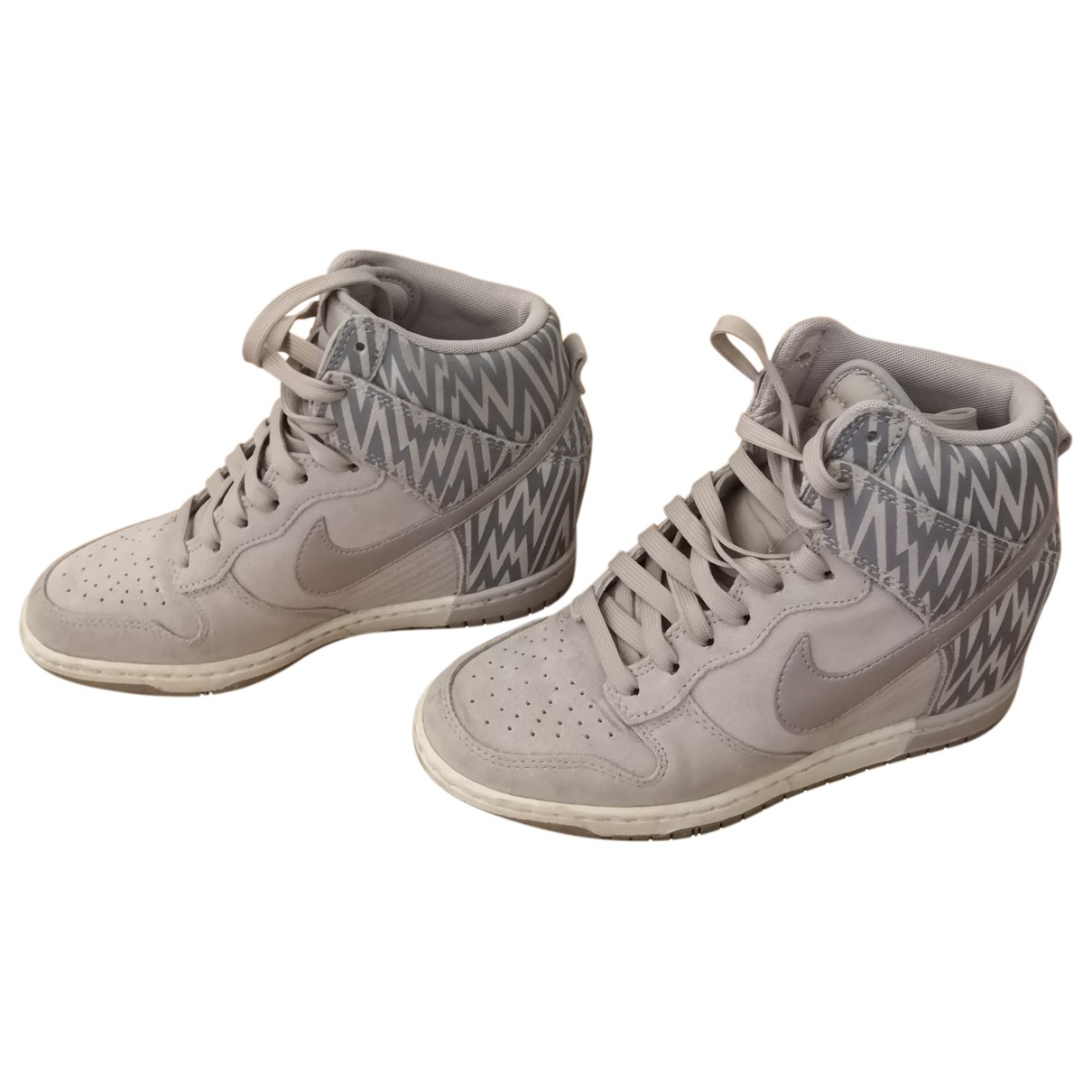 Nike \N Beige Rubber Trainers for Women 38 EU